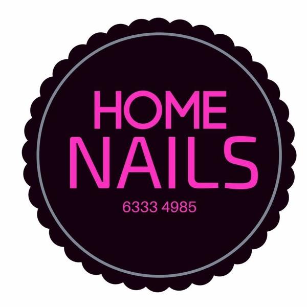Home Nail Beauty Brand Logo