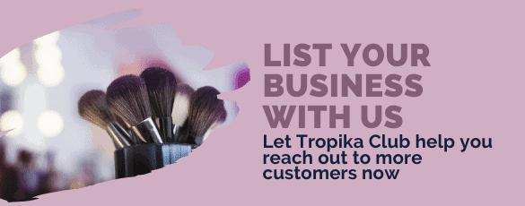 List Your Business Bar - Desktop