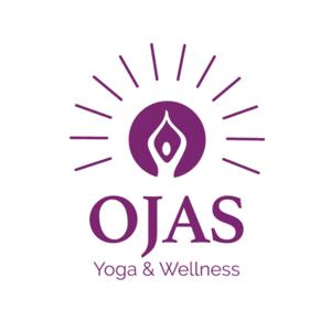 Ojas Yoga and Wellness Brand Logo